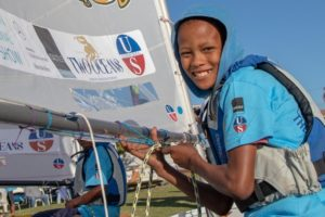 Unique sailing charity event goes global!