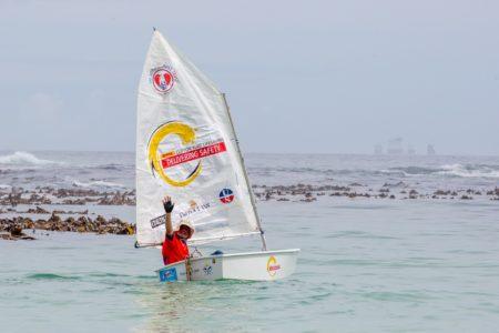 Hilton sails again!